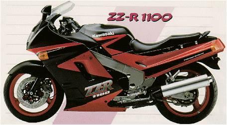 Kawasaki ZZR 1100 1992
