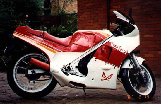 Suzuki Rg 250 1990