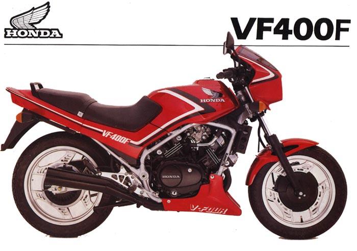 Honda VF 400 F 1986