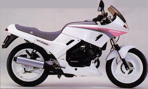 Honda VT 250 F Special Edition 1986