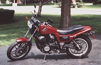 Honda vt 500 ft ascot 1984