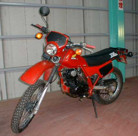 Honda XL 125 R 1984 motorcycles specifications