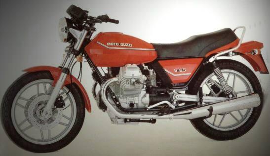 Moto Guzzi V 65 1984