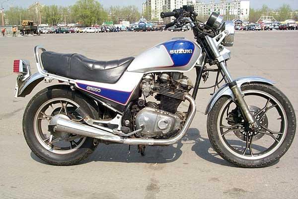 Suzuki Tempter GR 650  1984
