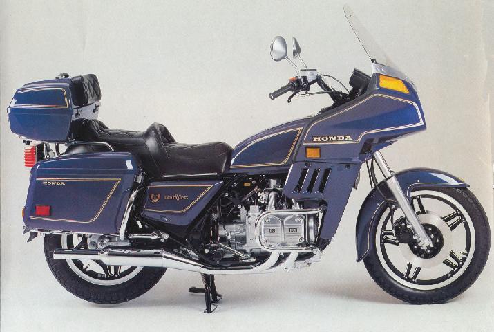 Honda GL 1100 Aspencade Gold Wing 1982