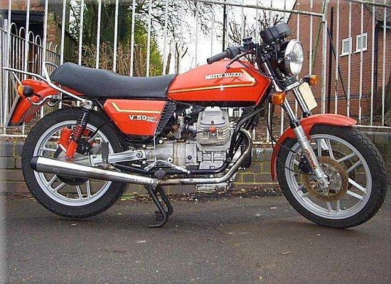 Moto Guzzi V 50 III 1982
