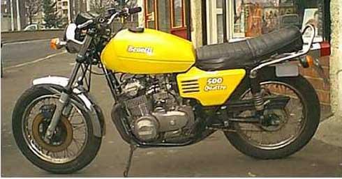 Benelli 500 Quattro 1977