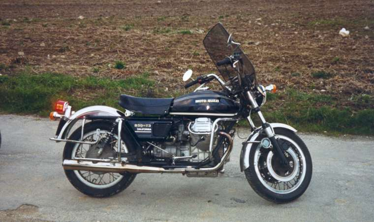 Moto Guzzi 850 T 3 California 1976