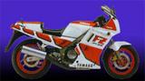 Yamaha FZ 750 MG (Europe-US) 1987