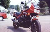 Honda CBX 750 F 1986