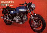 Ducati 860 GTS 1977