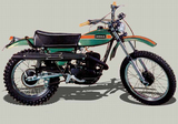 Ossa Enduro Phantom 125 1975