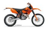 KTM 125 EXC 2006