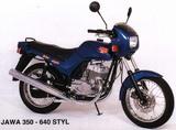 Jawa 640 Style Super luxe 1997
